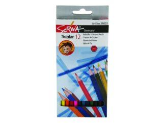 Creioane color Scriva 12/set