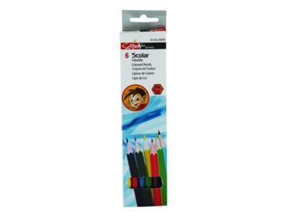 Creioane color Scriva 6/set