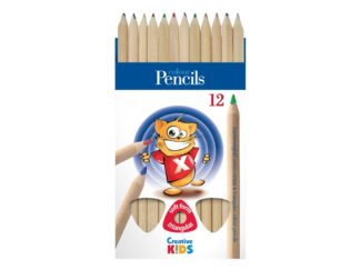 Creioane color triunghiulare Creative Kids
