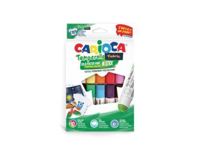 Creion-tempera Temperello Fabric Carioca 10/set