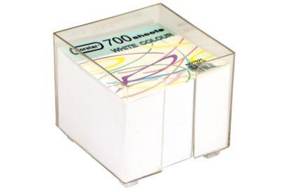 Cub din hârtie albă