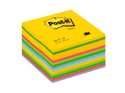 Cub notițe adezive Post-it® Briliant ultra