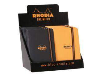 Display Carnet nedatat A5+, 60 file, Rhodia Unlimited, 20 buc