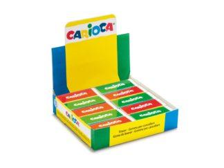 Display gumă de șters Carioca 20 buc
