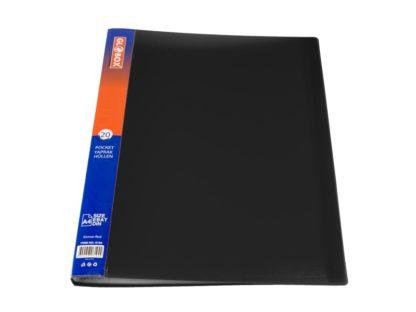 Dosar cu folii incluse 20 file negru