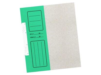 Dosar de încopciat economy cu gheare 1/2 verde