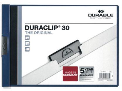 Dosar plastic Duraclip 30 A4 landscape Durable