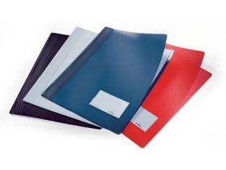 Dosar plastic șină cu etichetă Duralux Durable