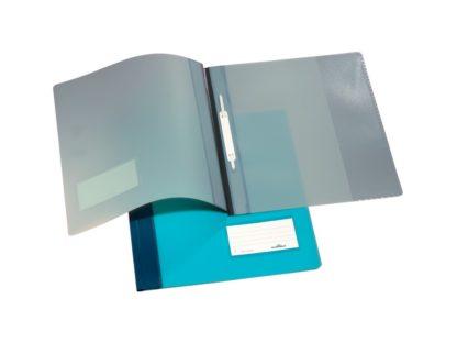 Dosar plastic șină cu etichetă Duralux Durable model