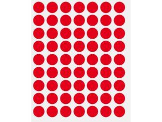 Etichete – buline color roșu