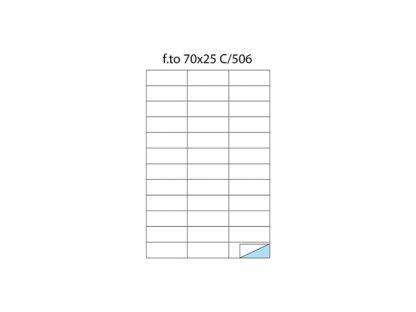 Etichete fără margini C/506