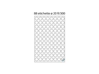 Etichete rotunde R/300
