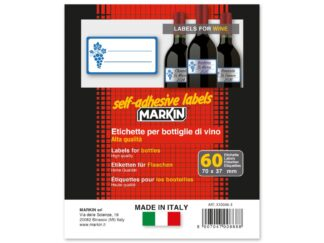 Etichete sticle vin 70 x 37 mm