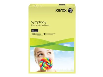 Hârtie color Xerox Symphony Pastel galben