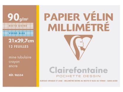 Hârtie milimetrică Clairefontaine