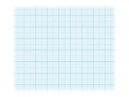 Hârtie milimetrică Clairefontaine bleu