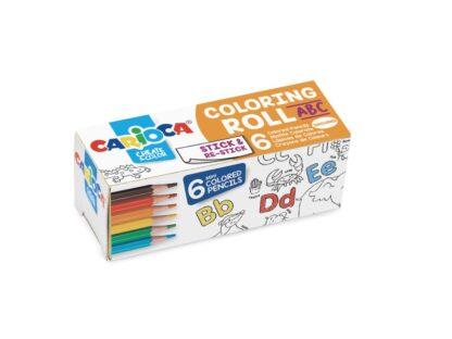 Hârtie Mini Coloring Roll Carioca 85x10 cm ABC