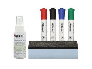 Kit Rexel pentru whiteboard