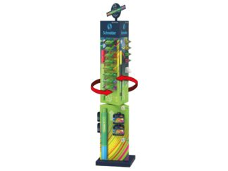 Liner Link-It Schneider display turn