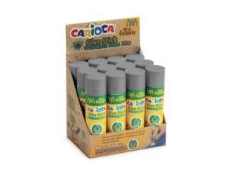 Lipici stick 20 g Eco Family Carioca 12 buc/display