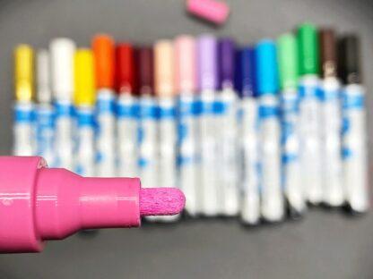 Marker cu vopsea acrilică Paint-It 320 Schneider culori