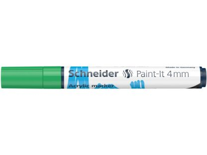 Marker cu vopsea acrilică Paint-It 320 Schneider verde 1