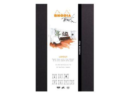 Marker Pad A4+ Rhodia Touch Layout ambalaj