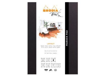 Marker Pad A5+ Rhodia Touch Layout ambalaj