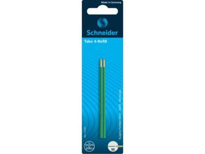 Mină Schneider Take 4 Blister Verde