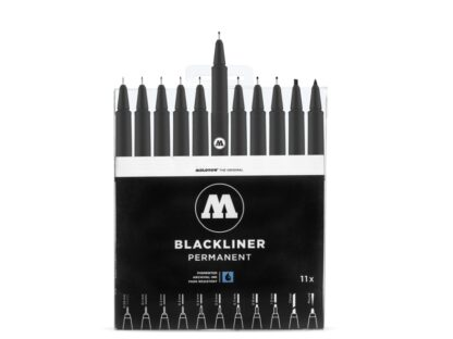 Molotow Blackliner complete set open