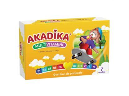 Multivitamine Akadika 7 buc/cut