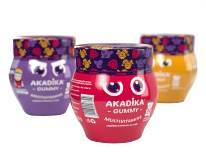 Multivitamine Akadika Gummy 30 buc/borcan