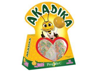 Multivitamine Akadika Propolis C Portocală 10 buc/cut