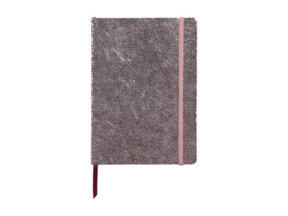 Notebook coperta moale piele, A5, 144 pagini, Clairefontaine Celeste Pink