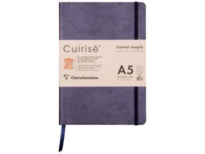 Notebook cu copertă moale din piele Cuirise, A5, Clairefontaine