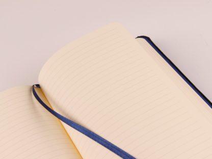 Notebook cu copertă tare din piele Cuirise, A5, Clairefontaine interior