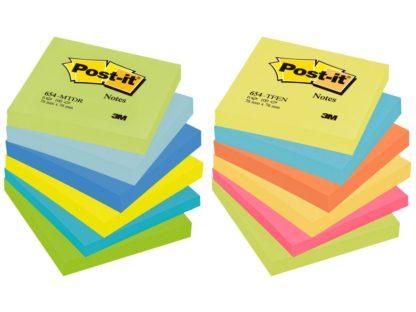 Notes adeziv Post-it® Neon