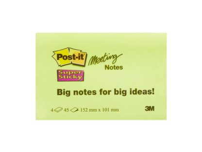 Notes adeziv Post-it® Super Sticky™ 152 x 101 mm