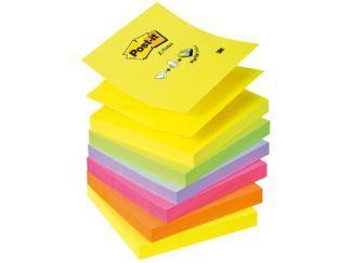 "Notes adeziv Post-it® ""Z"" Neon unicolor"