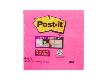 Notes adeziv Super Sticky 76 x 76 mm, Post-It pachet