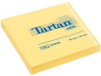 Notes adeziv Tartan 76 x 76 mm