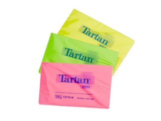 Notes adeziv Tartan Neon 76 x 127 mm