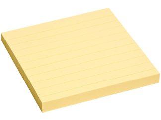 Notes adeziv Yellow liniat
