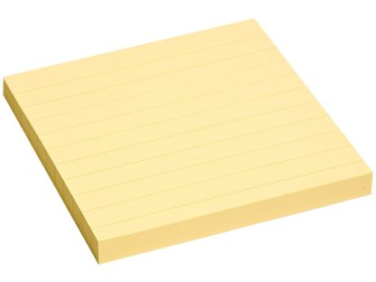 Notes adeziv Yellow liniat