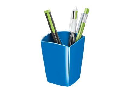 Pahar pentru instrumente de scris Cep Gloss albastru