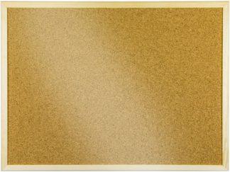 Panou plută cu ramă de lemn 90 x 120 cm