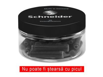 Patron cerneală Schneider neagră 30/borcan