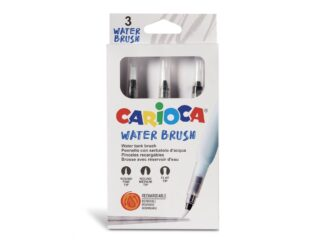 Pensule Carioca cu rezervor 3 buc/set