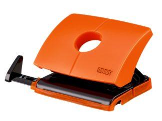 Perforator Novus B216 Color ID, 16 file portocaliu