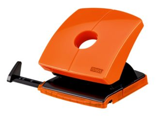 Perforator Novus B230 Color ID, 30 file portocaliu